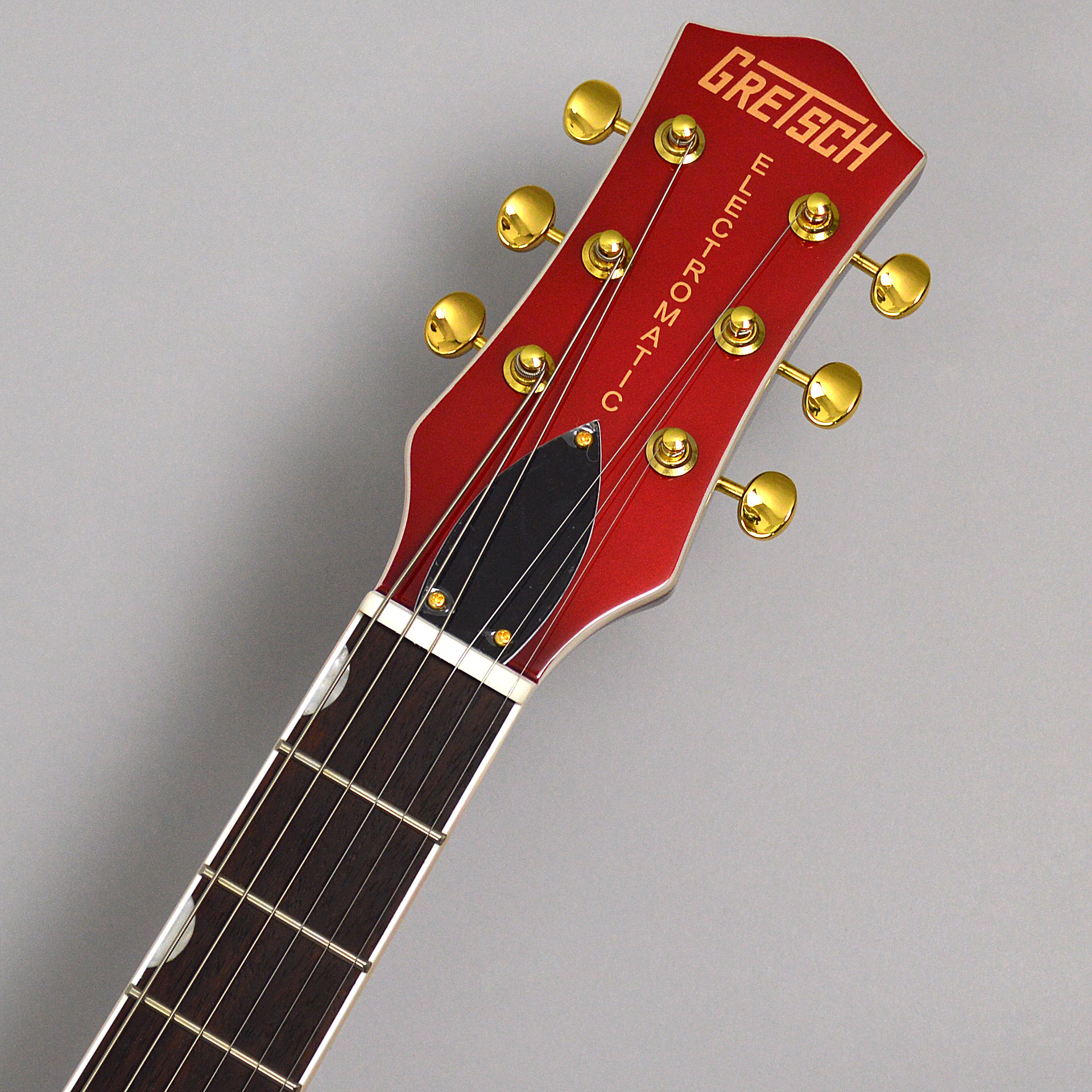 G5435TG Limited Edition Pro Jet with Bigsby Candy Apple Redのヘッド画像