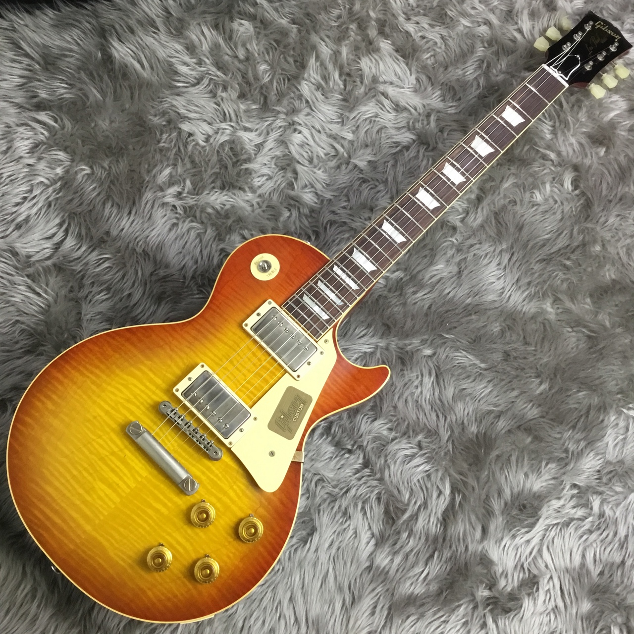 1959 Les Paul Standard Sonoran Fade VOS NH PSLのボディトップ-アップ画像
