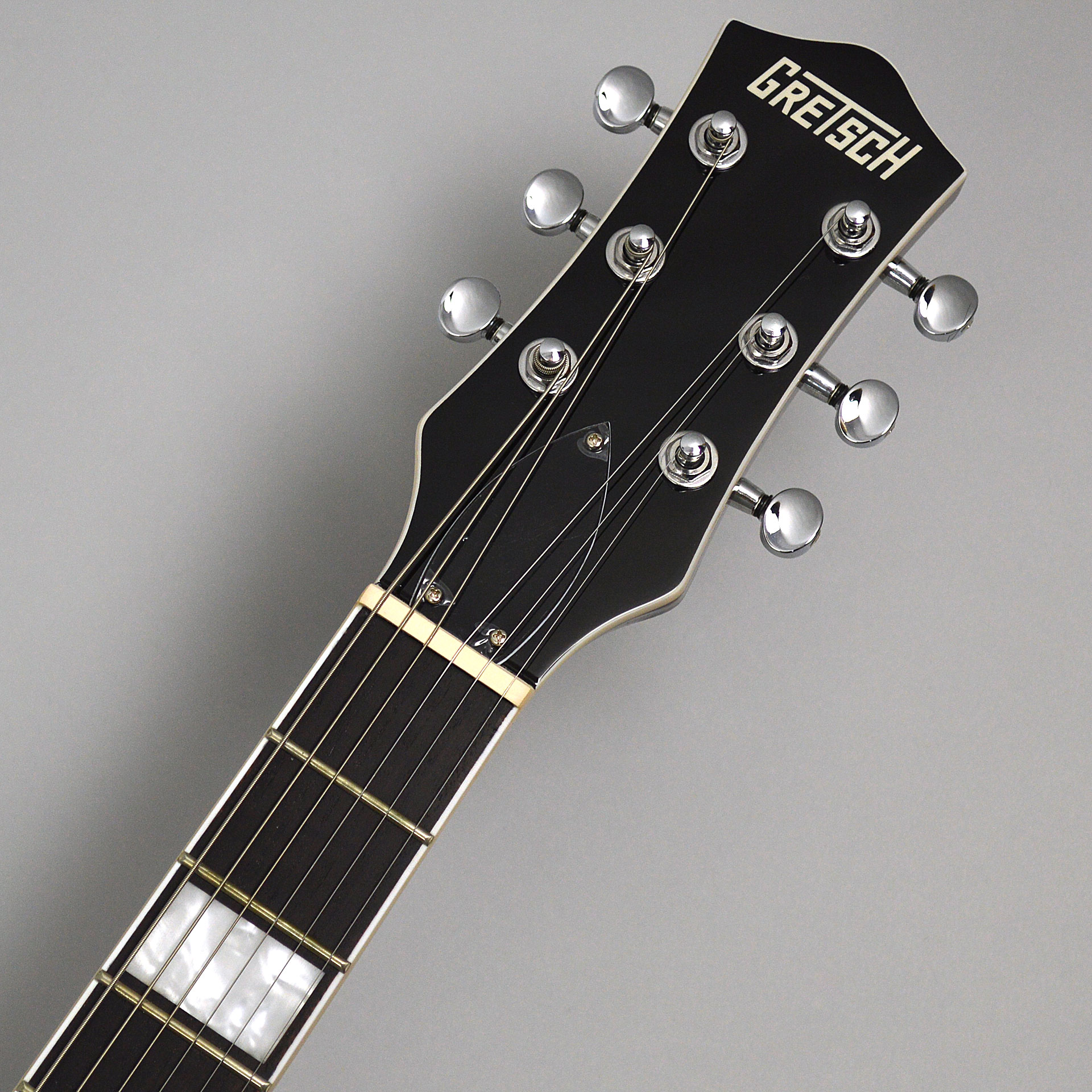 G5220 Electromatic Jet BT Single-Cut with V-Stoptail Casino Goldのヘッド画像