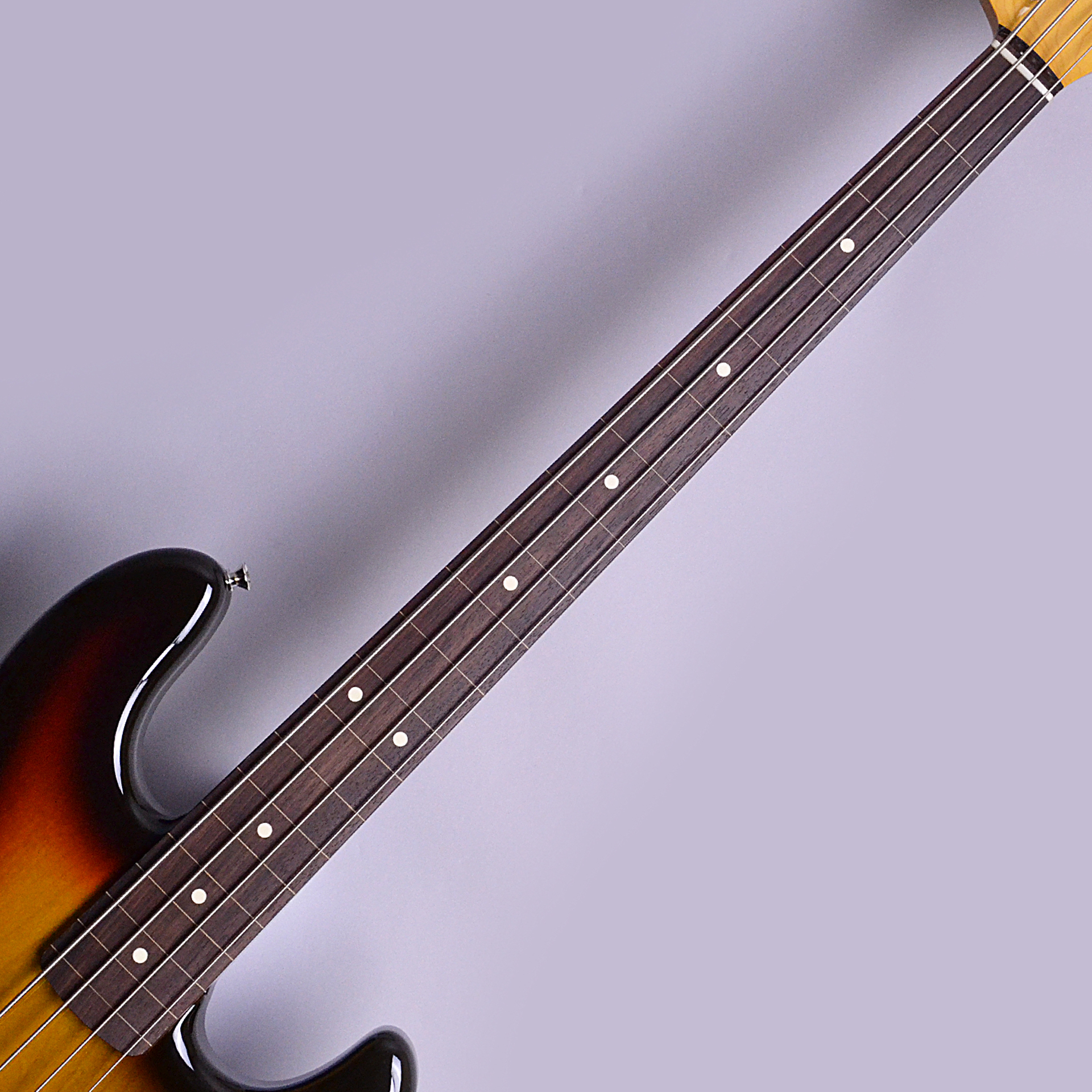Made in Japan Traditional 60s Jazz Bass Fretlessの指板画像