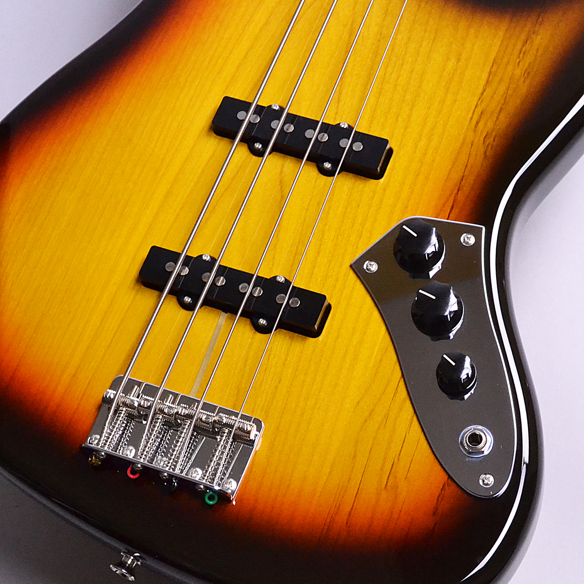 Made in Japan Traditional 60s Jazz Bass Fretlessのヘッド画像