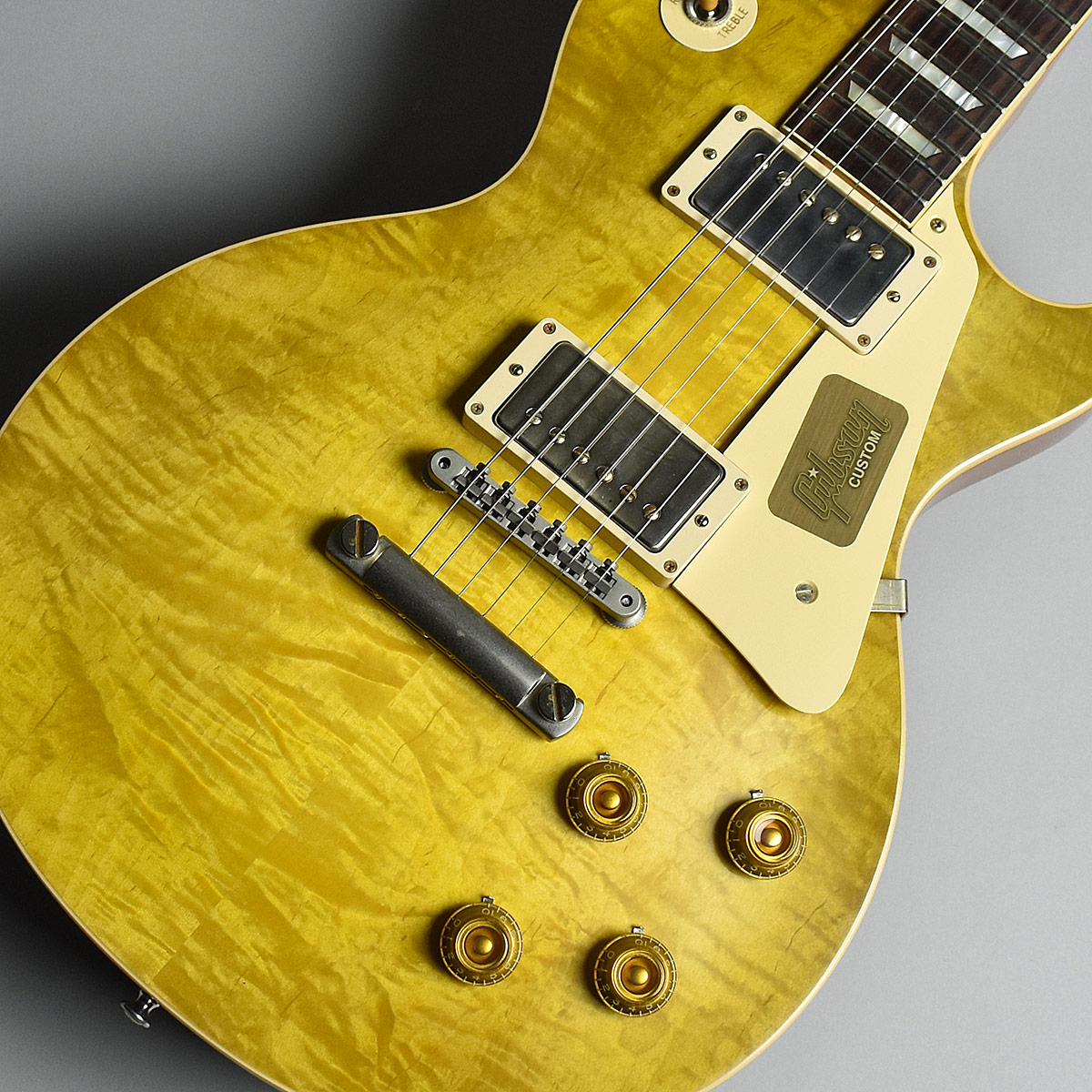 1959 Les Paul Standard VOSのボディトップ-アップ画像