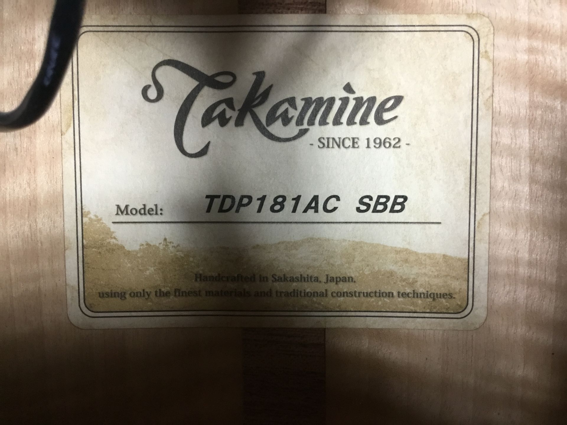 TDP181ACのケース・その他画像