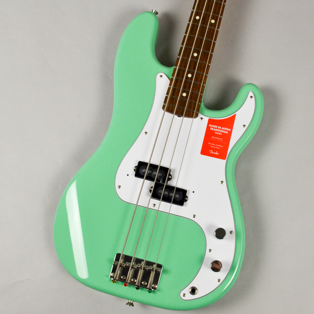 Made in Japan Traditional 60s Precision Bass SFGのボディトップ-アップ画像