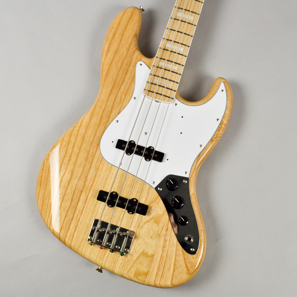 Made in Japan Traditional 70s Jazz Bass NATのボディトップ-アップ画像