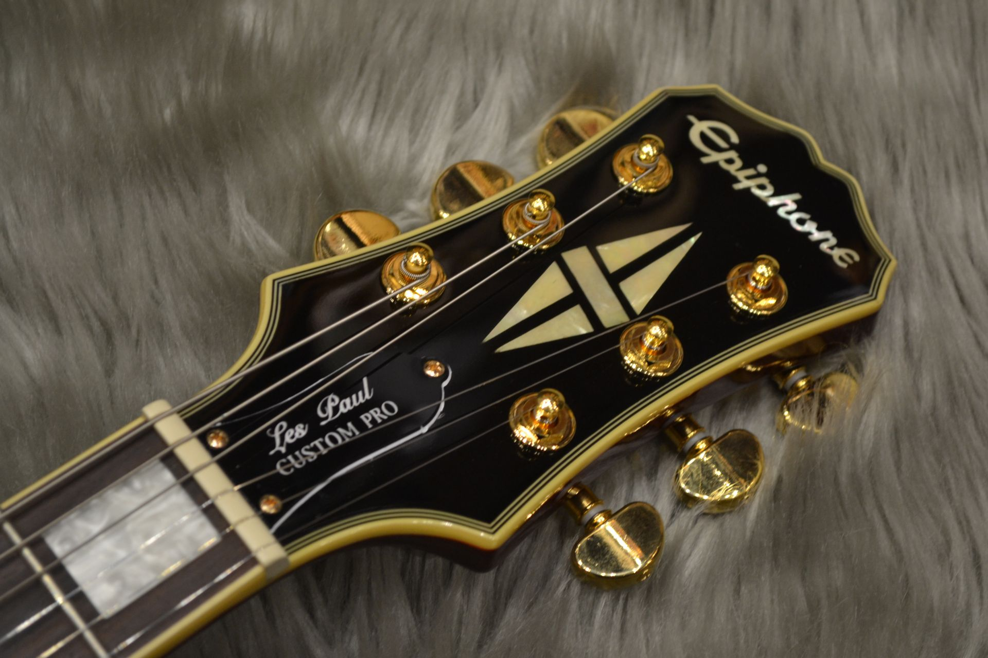 Epiphone Ltd LP Custom PROのヘッド画像