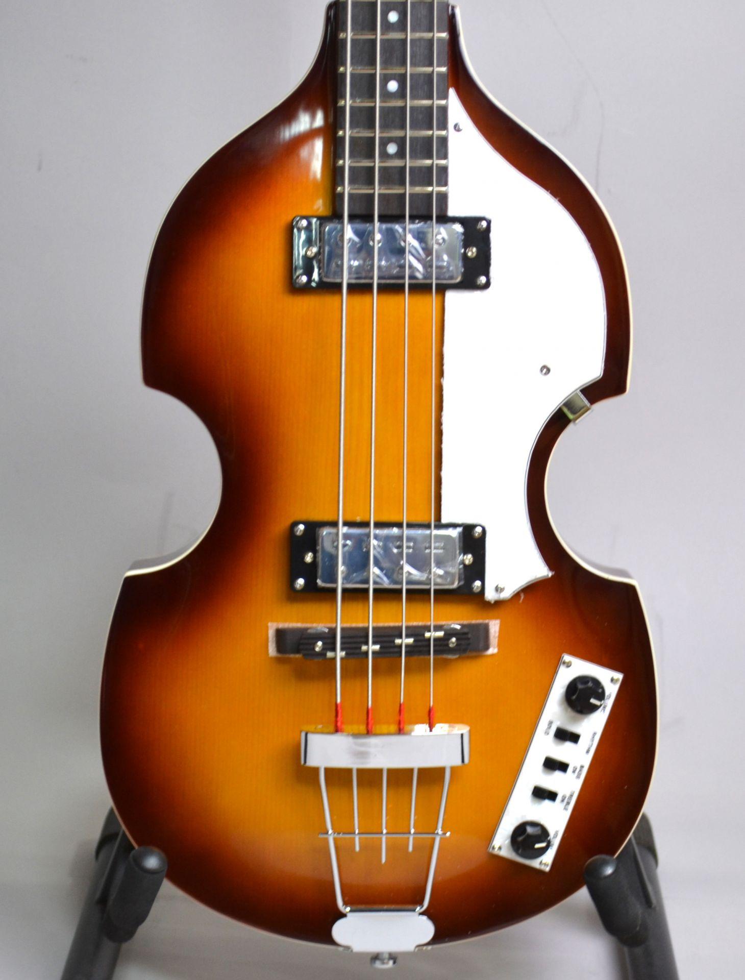 IGNITION BASS SB Violin Bassのボディトップ-アップ画像