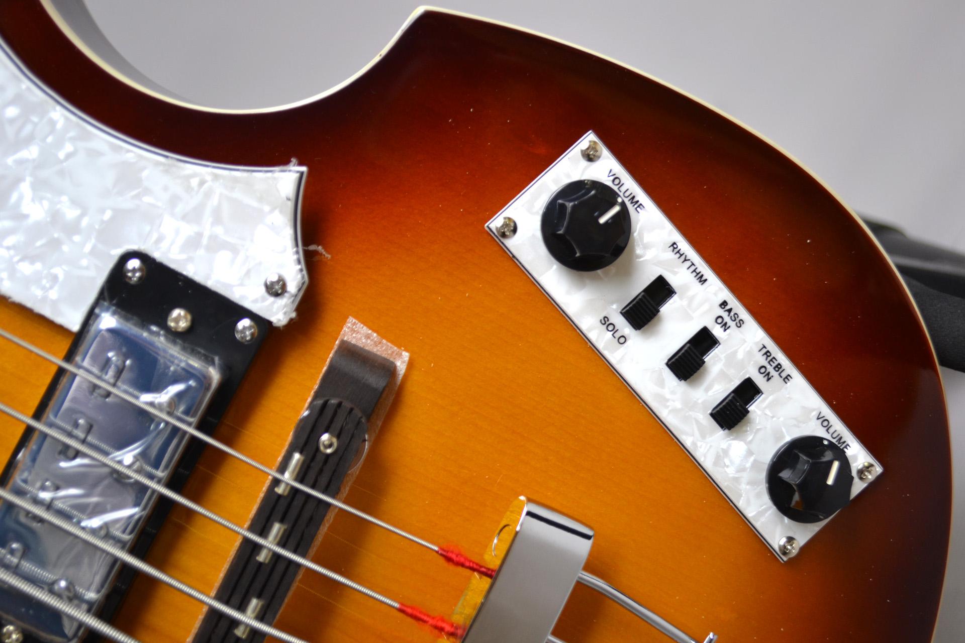 IGNITION BASS SB Violin Bassのボディバック-アップ画像