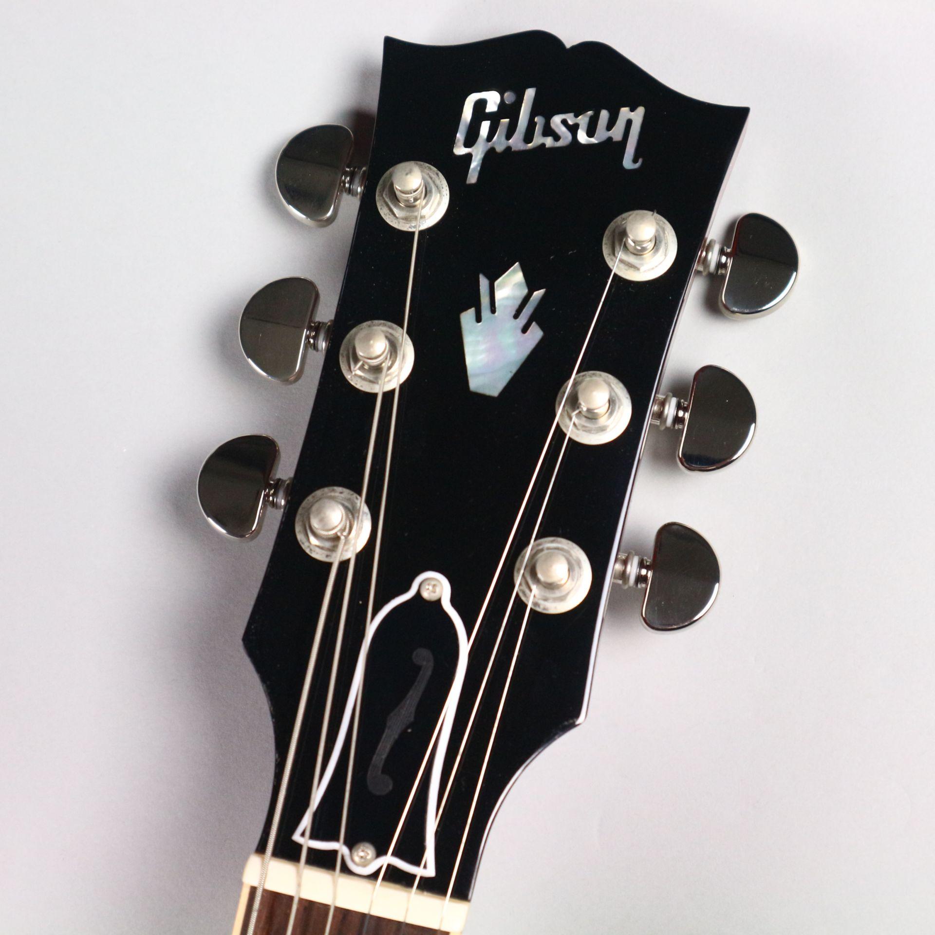 ES-335 Figured 2016 Cherryのヘッド画像