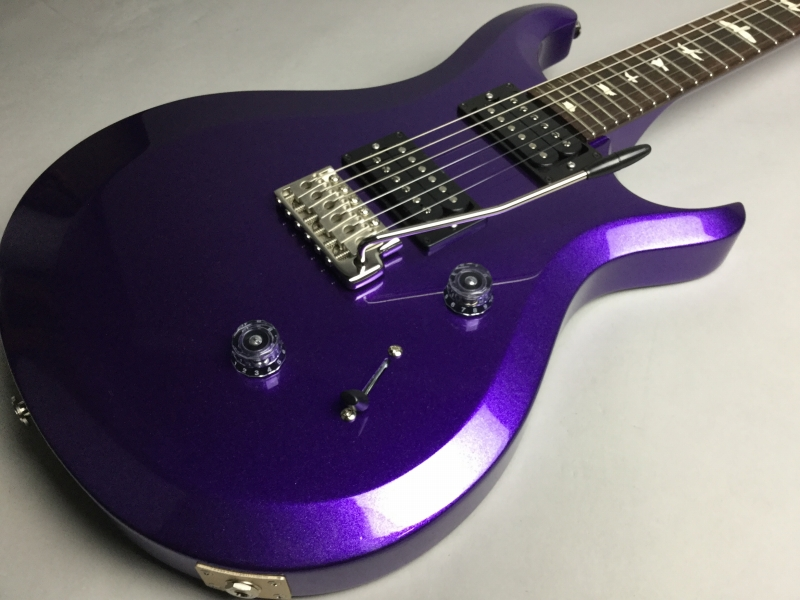 S2 Custom24 Custom Color Metallic Purpleのボディトップ-アップ画像
