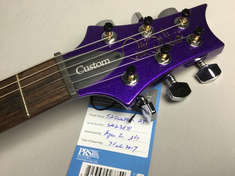 S2 Custom24 Custom Color Metallic Purpleのヘッド画像