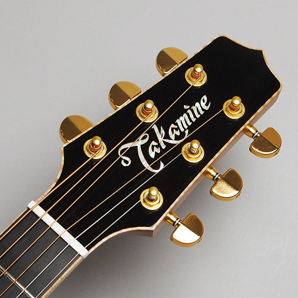 Takamine TLD-M2 エレアコギター 【タカミネ 30本限定生産モデル】【ビビット南船橋店】【アウトレット】のヘッド画像