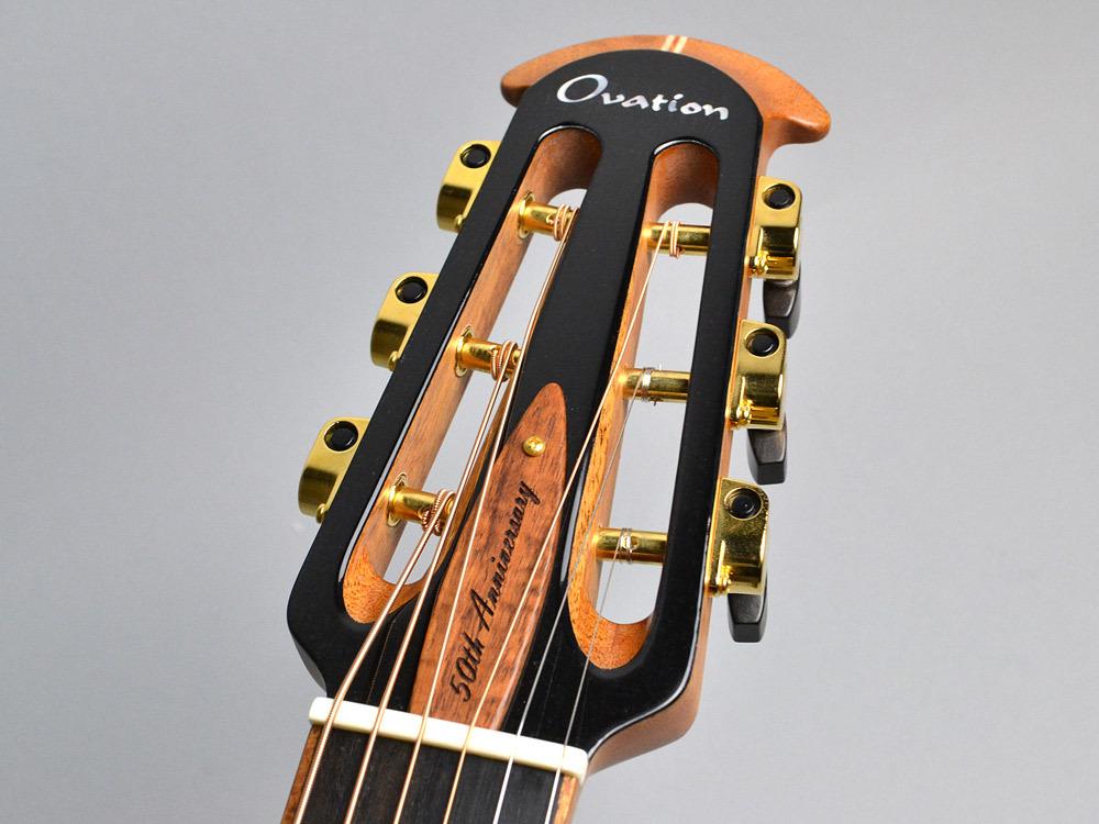 Ovation 50th Anniversary Folklore FD14AV50-4/Natural エレアコギター 【オベーション】【ビビット南船橋店】【アウトレット】のヘッド画像