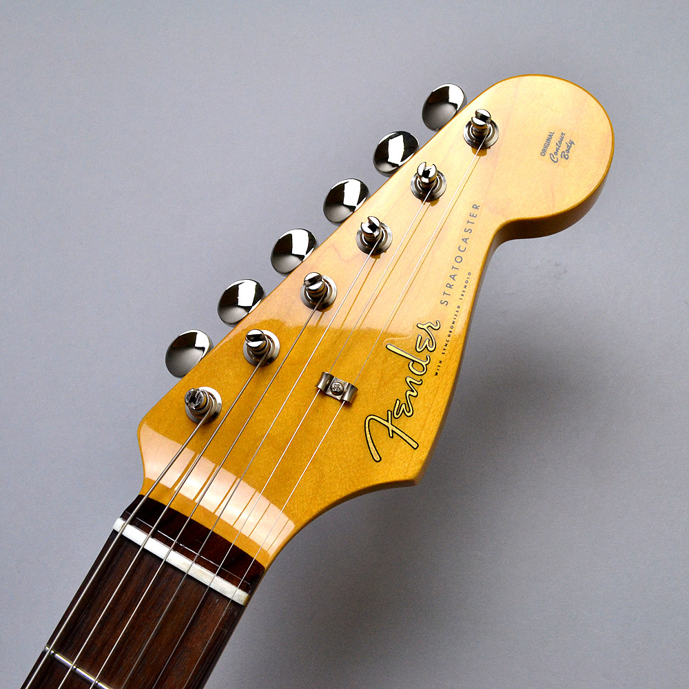 MADE IN JAPAN TRADITIONAL 60S STRATOCASTER Rosewoodのヘッド画像