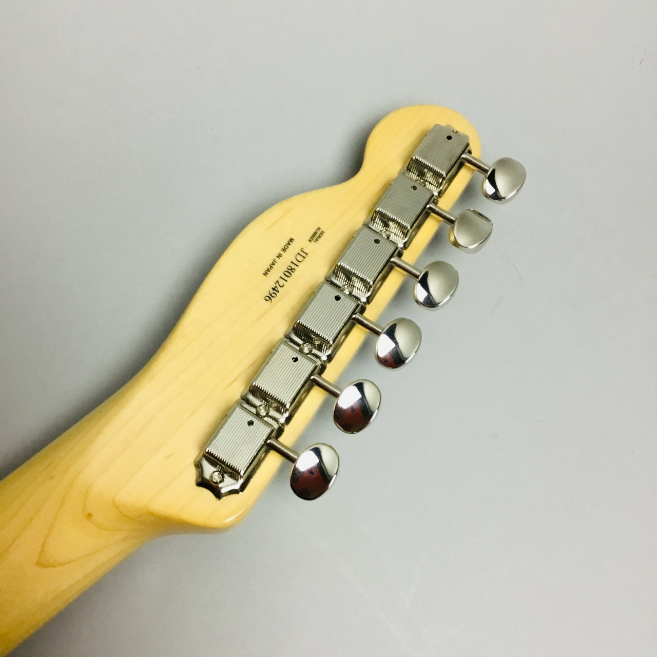 MADE IN JAPAN TRADITIONAL 69 TELECASTER THINLINEのヘッド裏-アップ画像