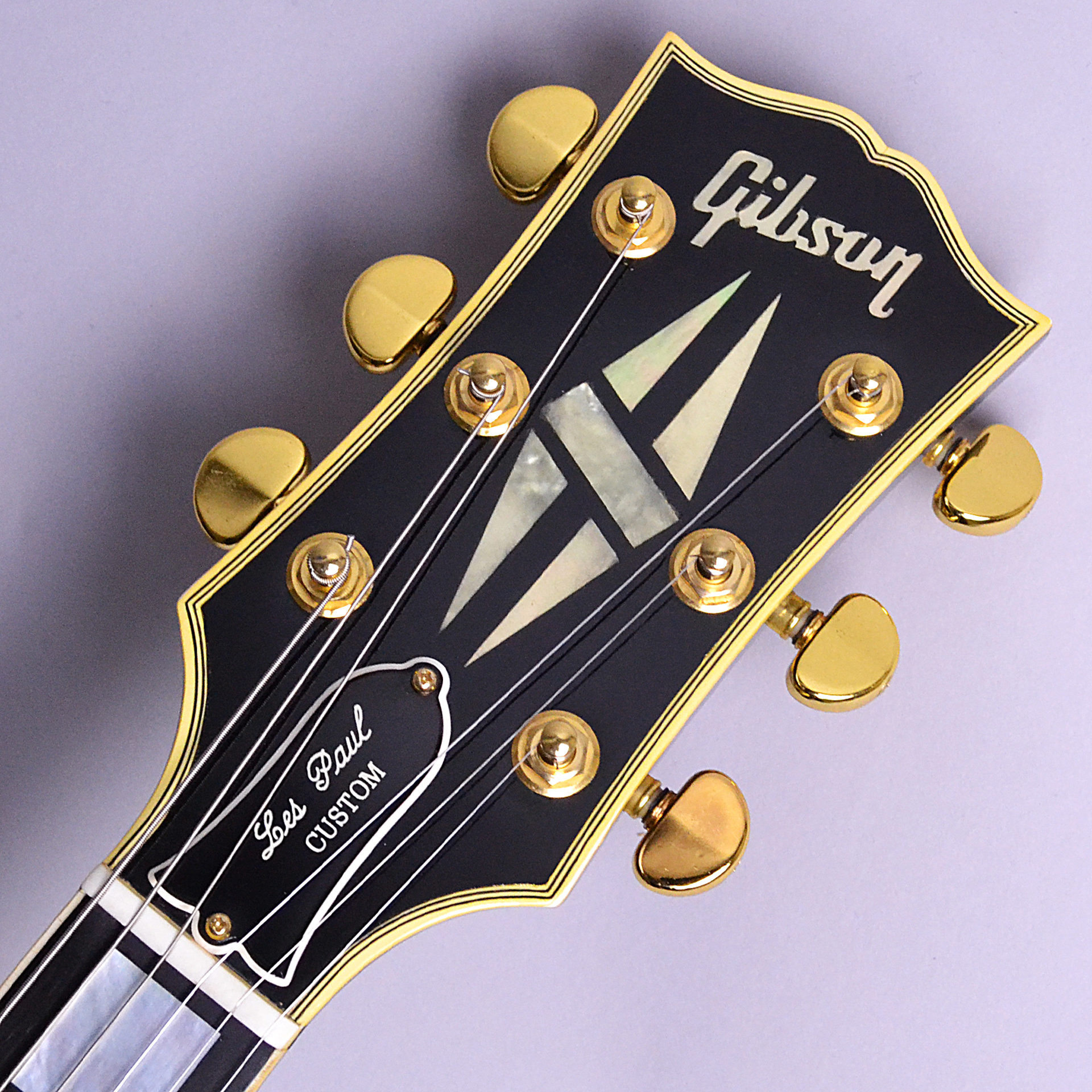 Historic Collection Les Paul Custom 3PUのヘッド画像