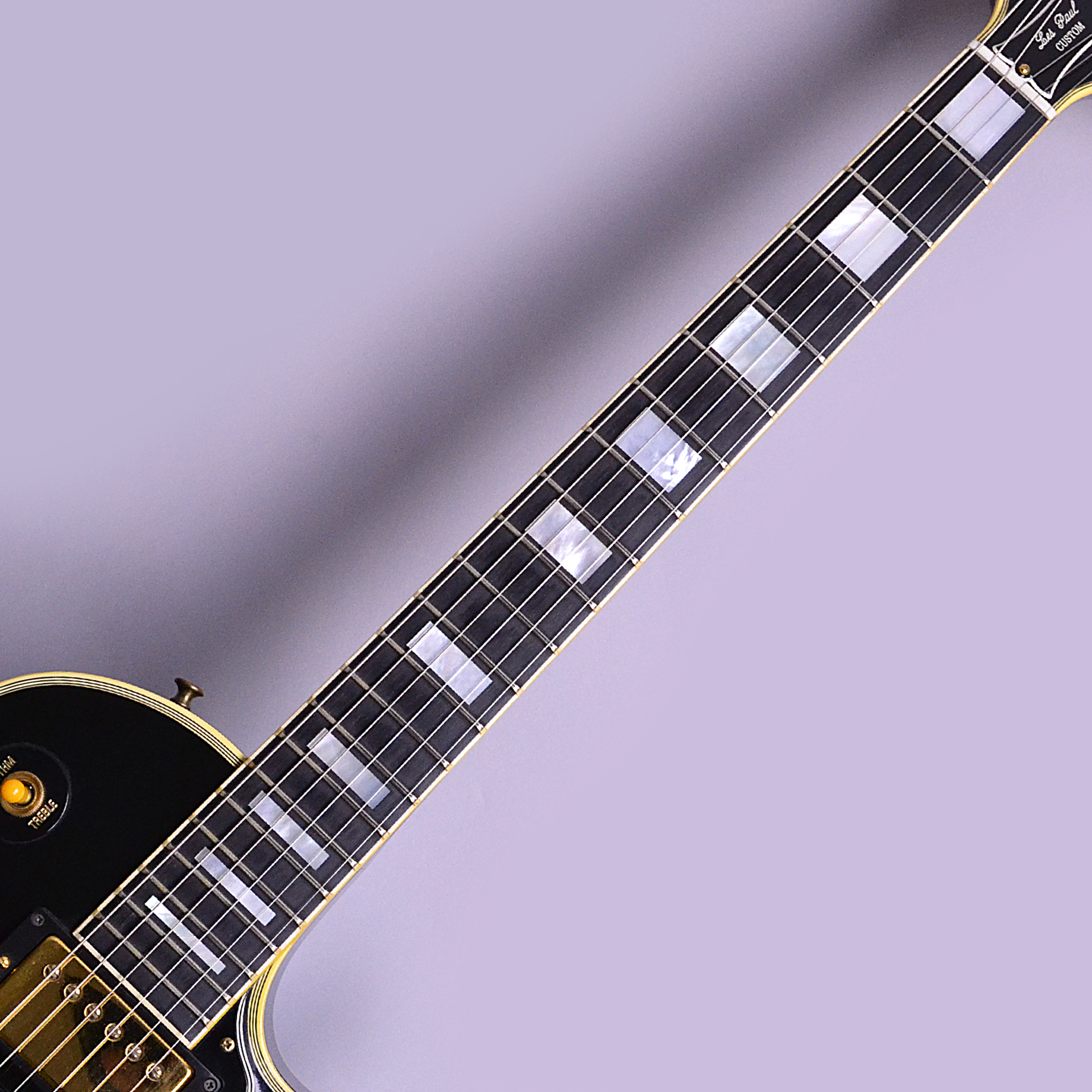 Historic Collection Les Paul Custom 3PUの全体画像(縦)