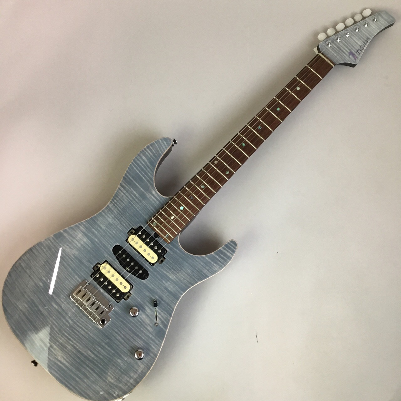T's Guitars DST-PRO24 MH-LTD White Tiger 写真画像