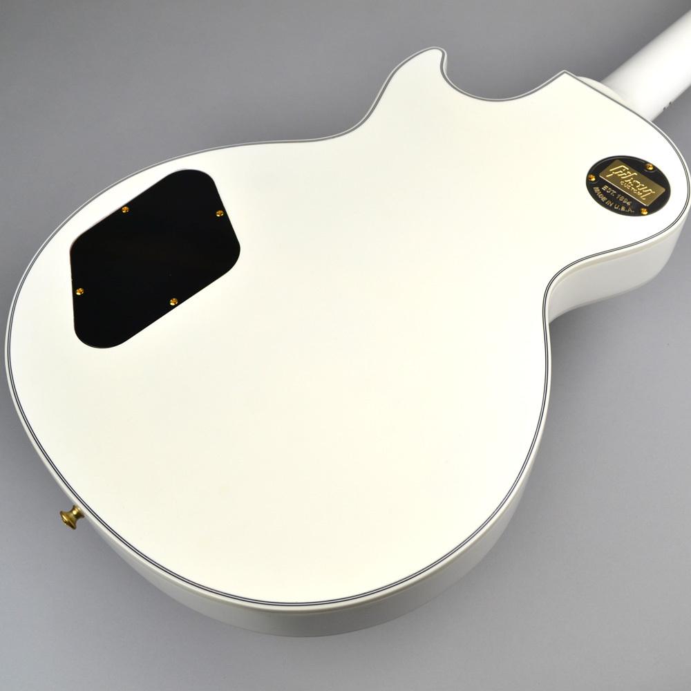 Les Paul Custom Alpine Whiteのヘッド裏-アップ画像