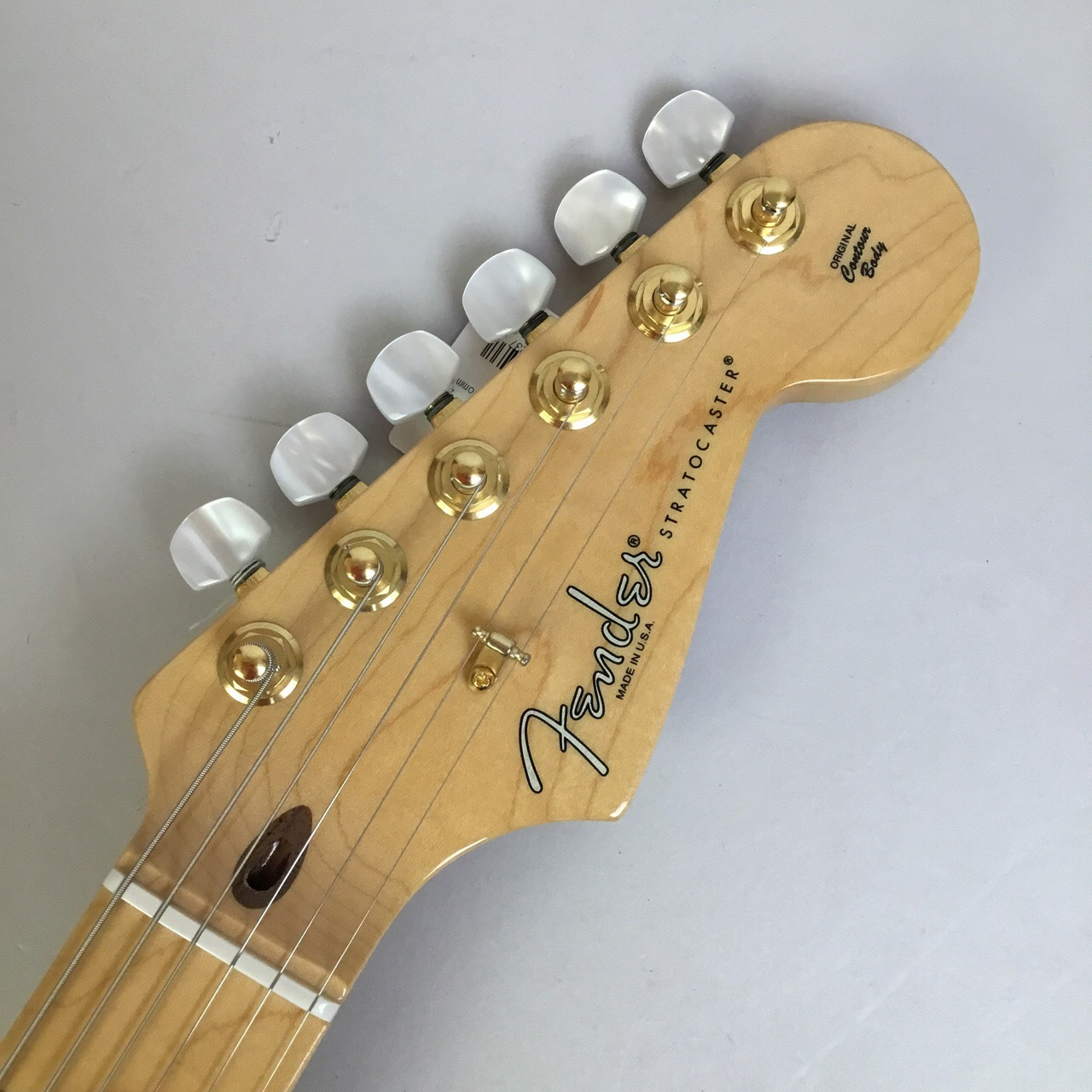 60th Anniversary Commemorative Stratocaster【60周年限定モデル】のヘッド画像