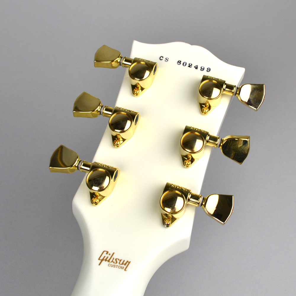 Les Paul Custom Alpine Whiteの指板画像