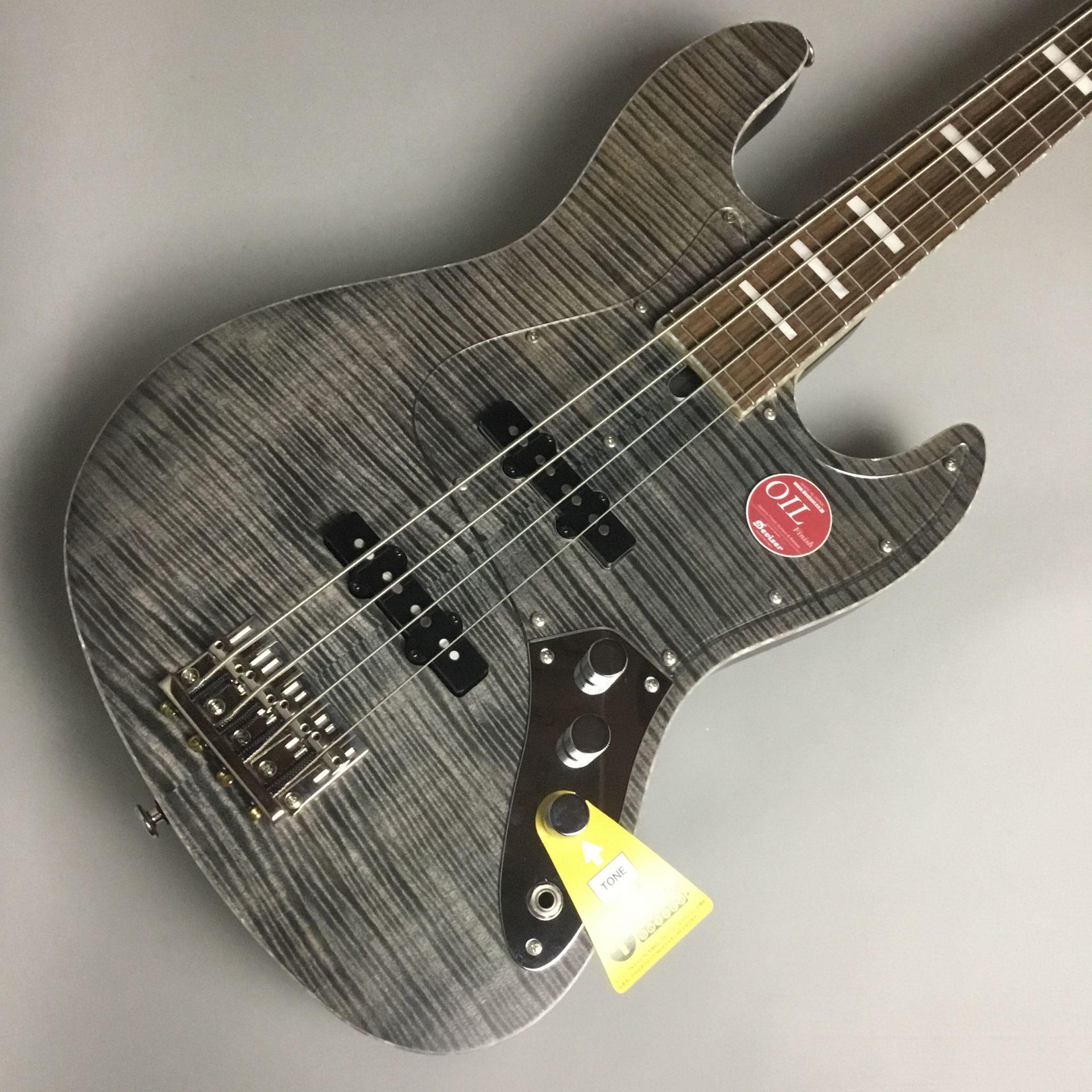 Musical Instruments & Gear Bacchus Wl4-fm Custom Bass Guitar Electric Bass Guitars