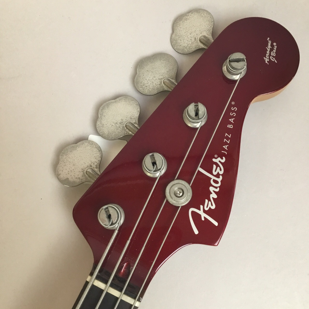 AJB Aerodyne Jazz Bassのヘッド画像