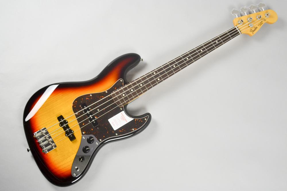 Made in Japan Hybrid 60s Jazz Bass 3CS