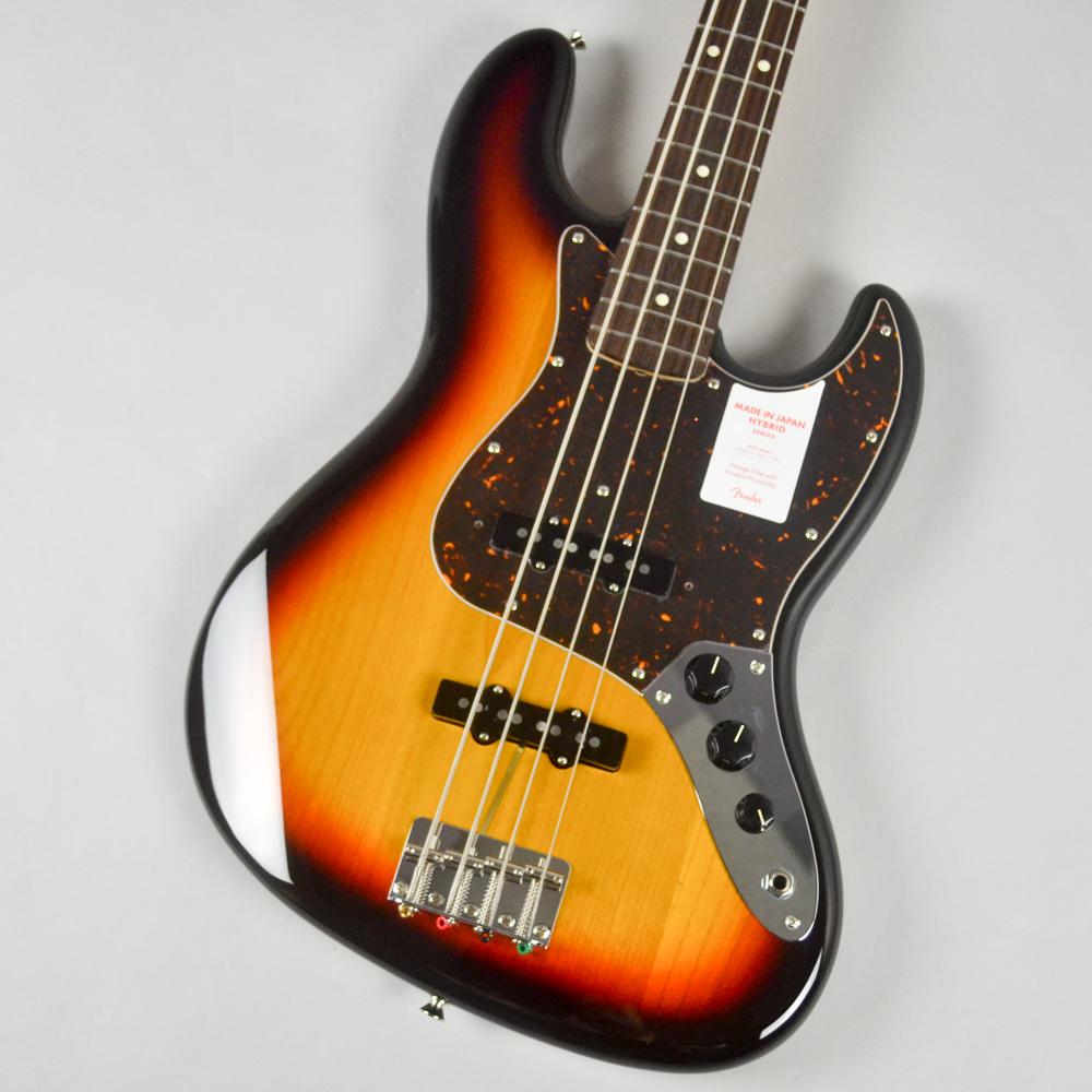 Made in Japan Hybrid 60s Jazz Bass 3CSのボディトップ-アップ画像