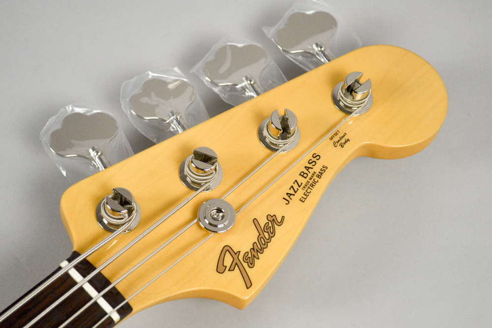 Made in Japan Hybrid 60s Jazz Bass 3CSのヘッド画像