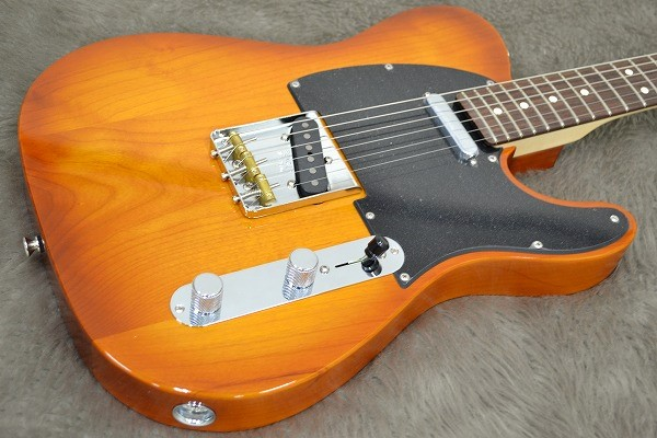 American Performer Telecaster Rosewood Fingerboardのボディトップ-アップ画像