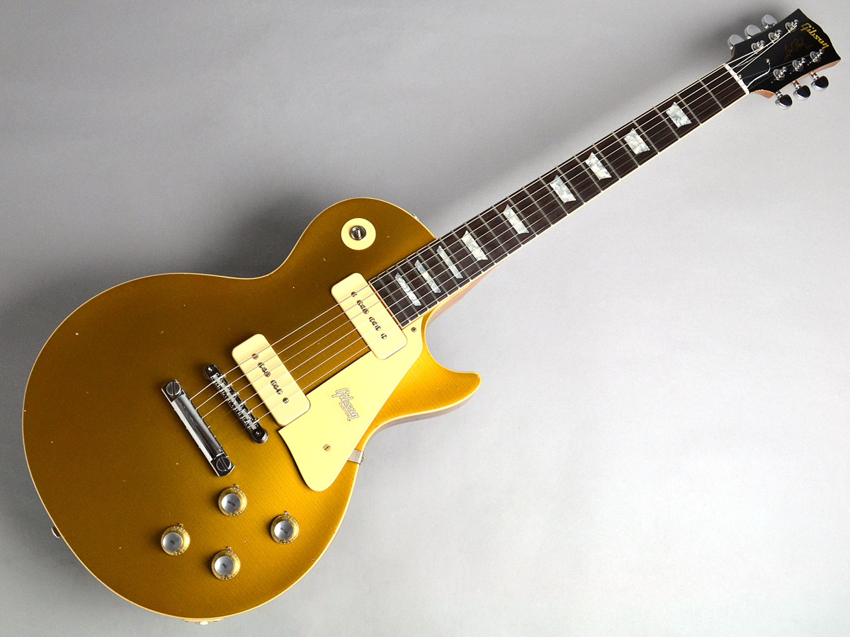 1968 Les Paul M2M Gold Top HeavyAgedの全体画像