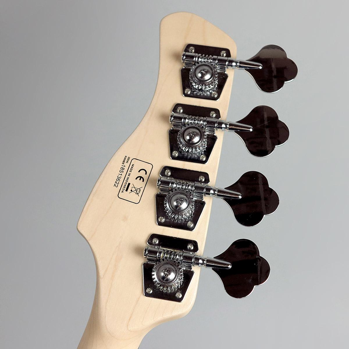 Marcus Miller V3 4stのヘッド裏-アップ画像