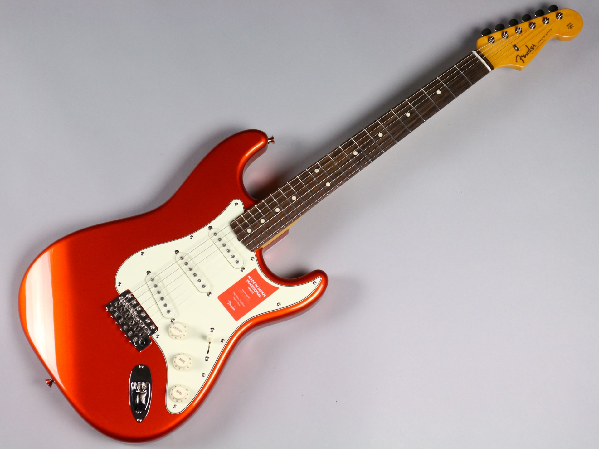 TRADITIONAL 60S STRATOCASTER®(MADE IN JAPAN)のボディトップ-アップ画像