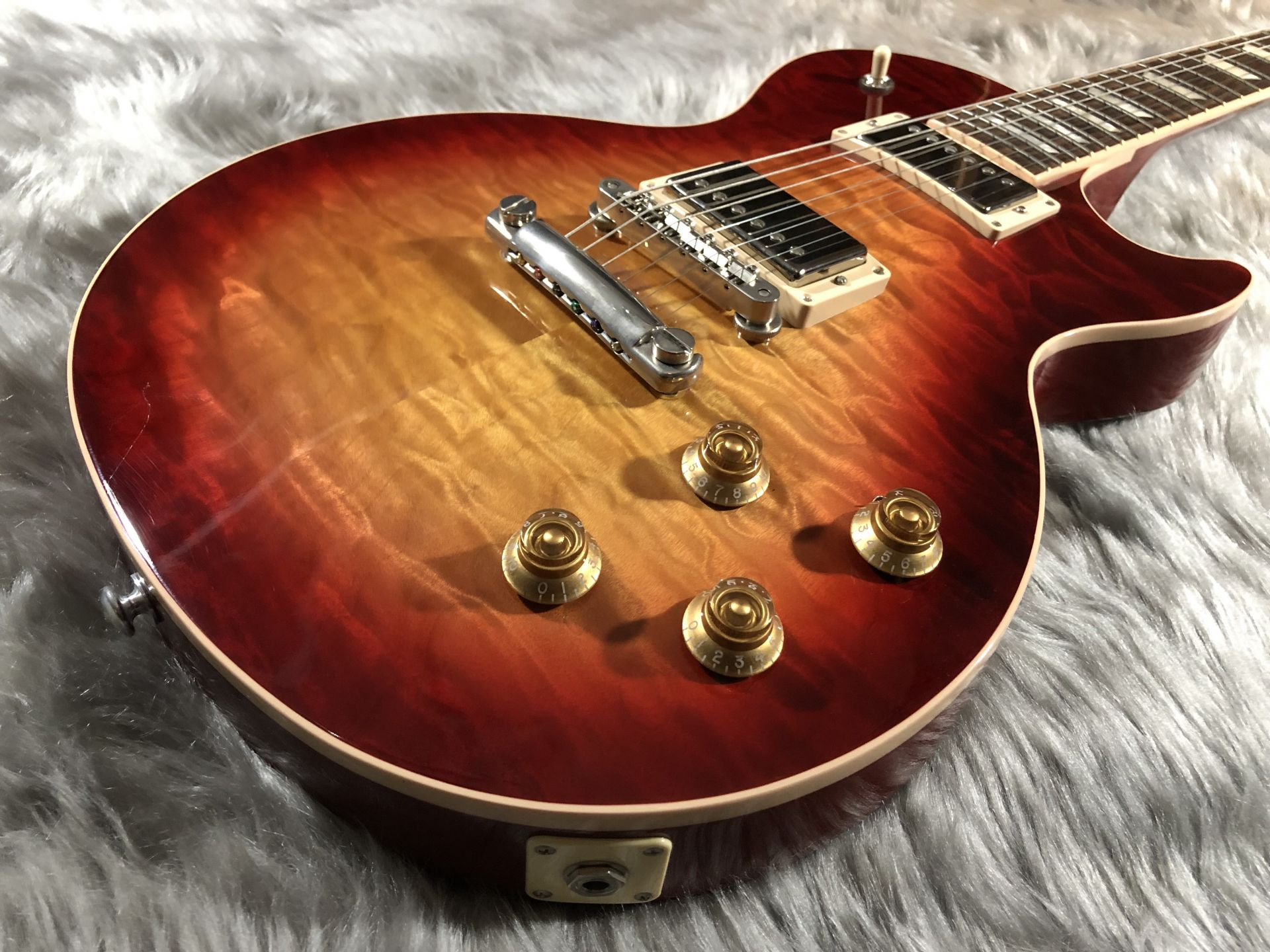 Les Paul Traditional 2017 Quiltedのボディトップ-アップ画像