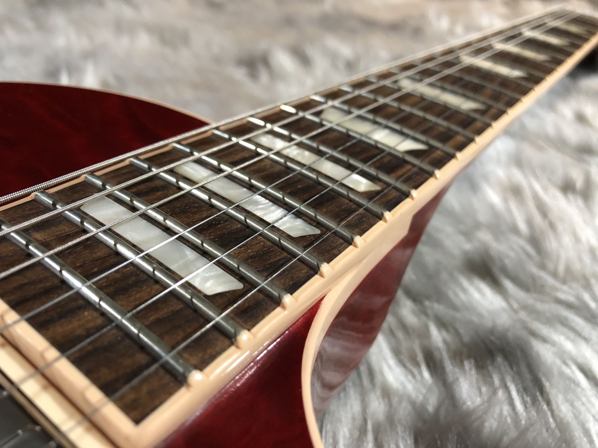 Les Paul Traditional 2017 Quiltedの指板画像
