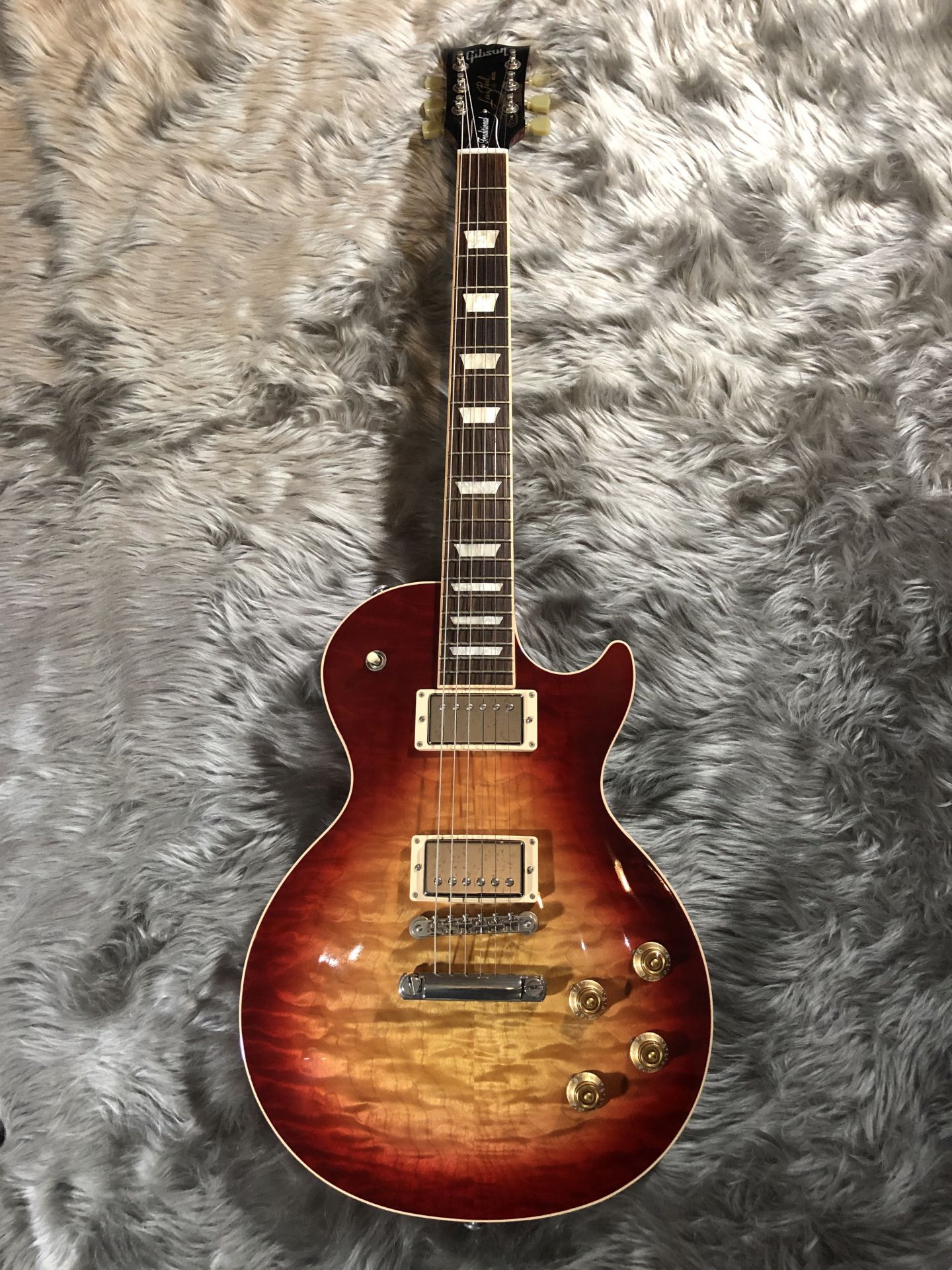 Les Paul Traditional 2017 Quiltedの全体画像(縦)