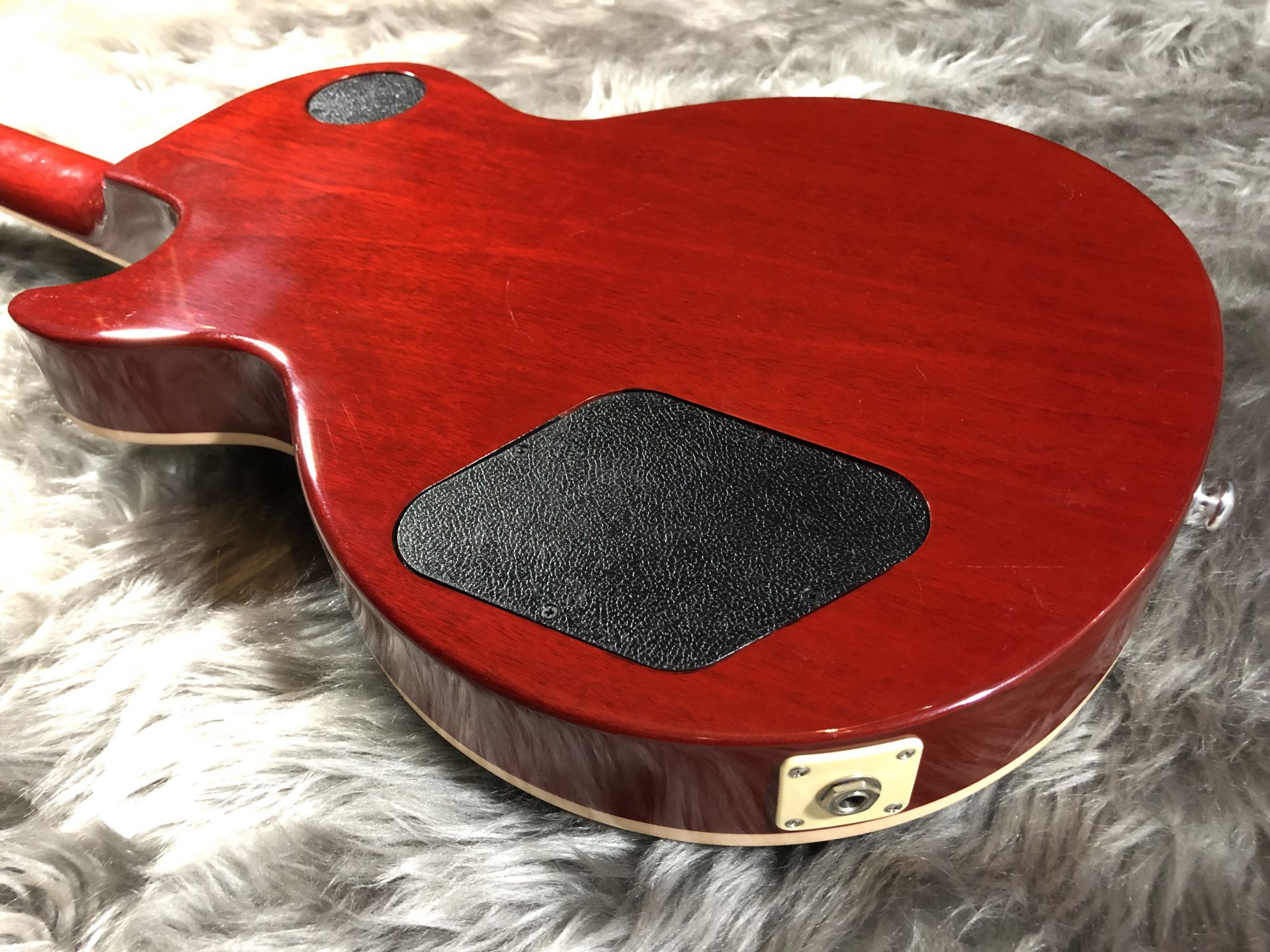 Les Paul Traditional 2017 Quiltedのボディバック-アップ画像
