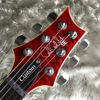 【島村楽器オリジナルモデル】SE CUSTOM 24 QM LTD Black Cherryのヘッド画像