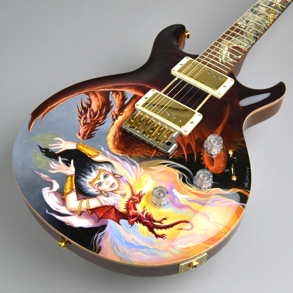 Private Stock Santana Painted Dragon 7of15 #3064