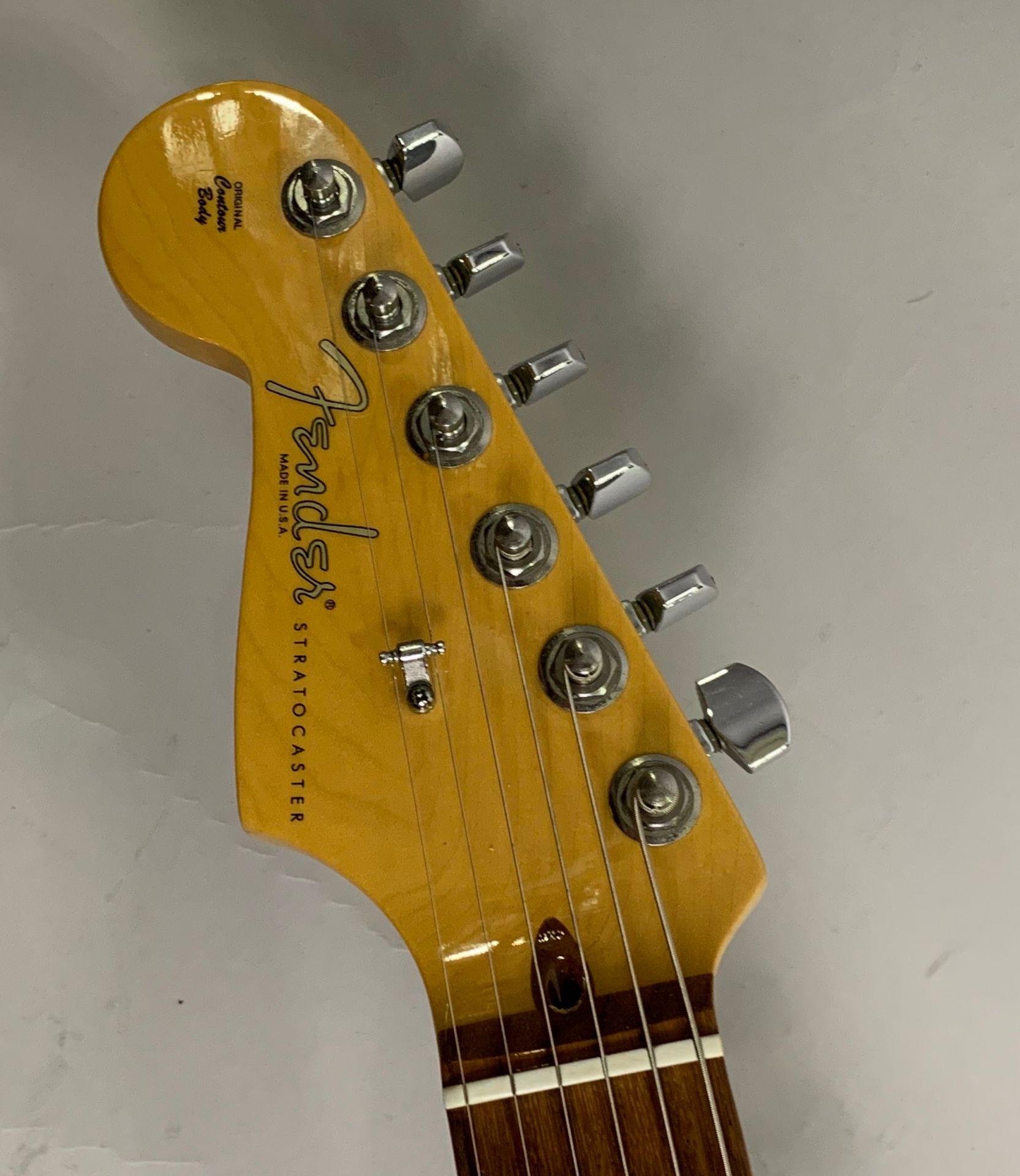 American Standard Stratcaster Lefthand 左利き レフティストラト アメスタのヘッド画像