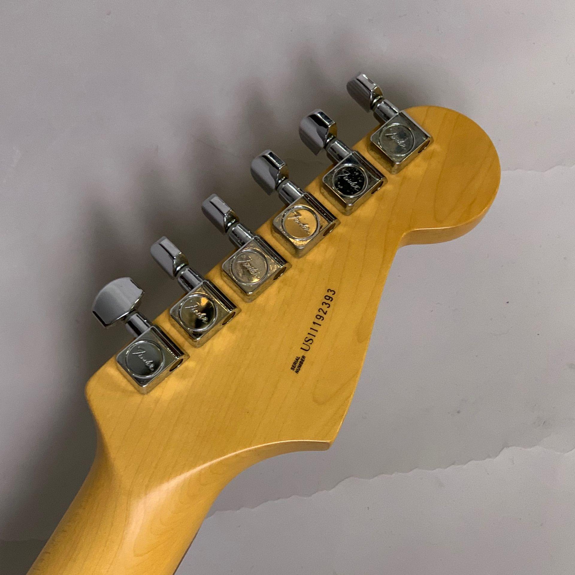 American Standard Stratcaster Lefthand 左利き レフティストラト アメスタの指板画像