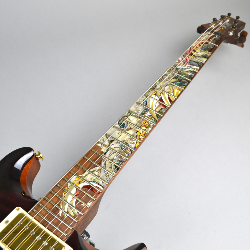 Private Stock Santana Painted Dragon 7of15 #3064のボディバック-アップ画像