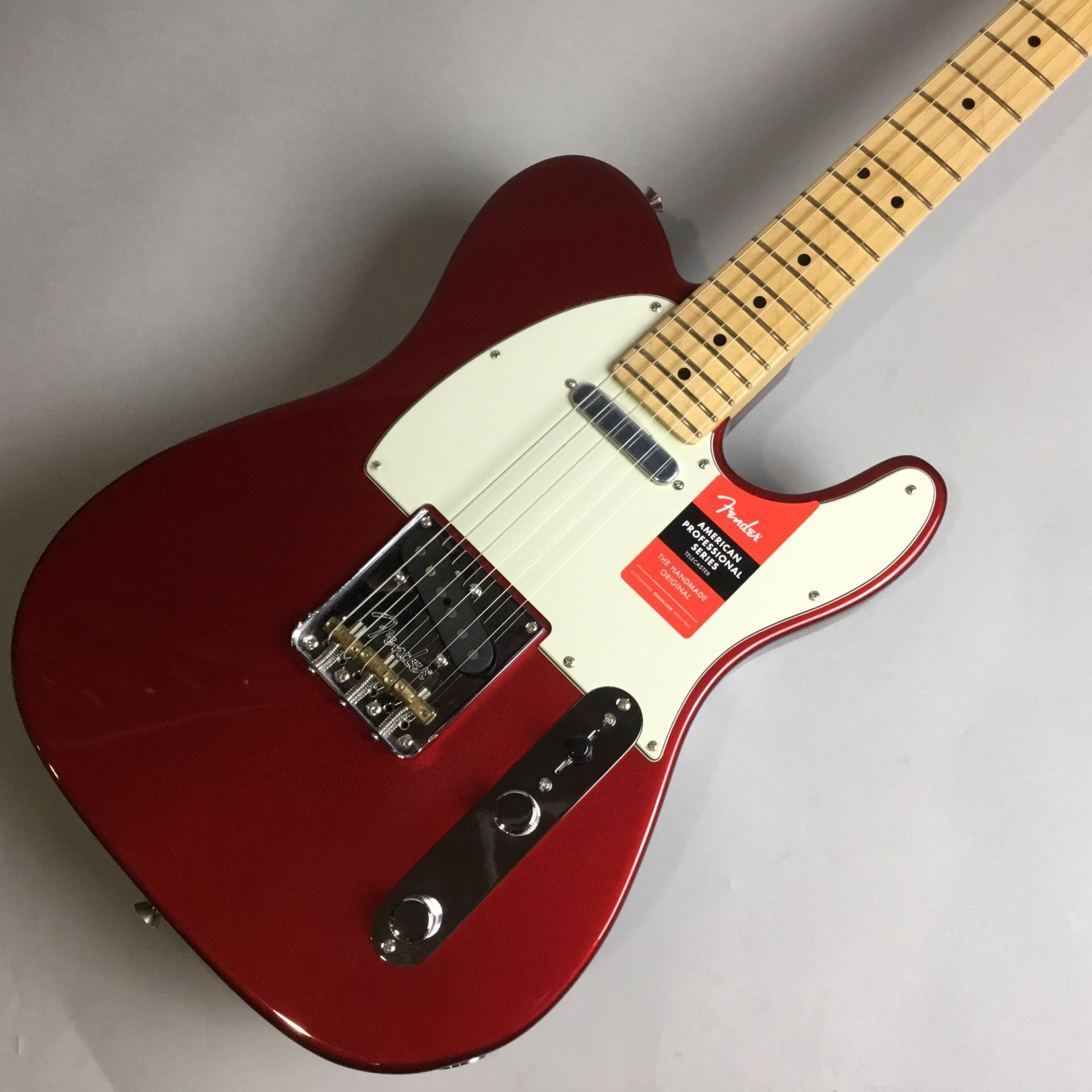 American Professional Telecaster Rosewood Candy Apple Redのボディトップ-アップ画像