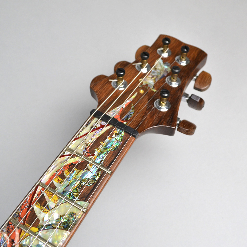 Private Stock Santana Painted Dragon 7of15 #3064のヘッド画像