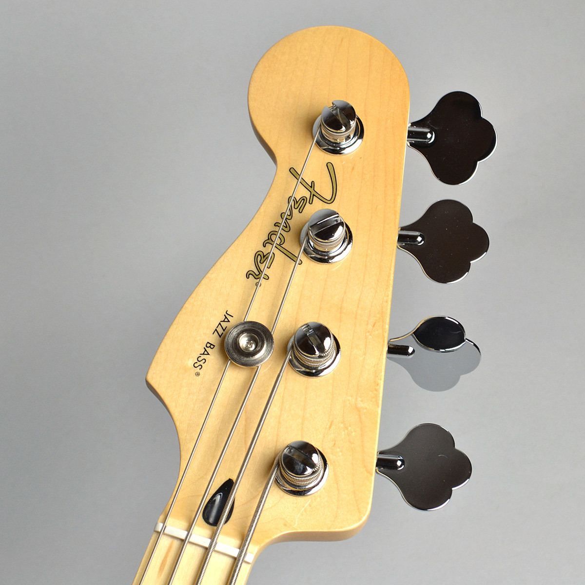 USED Player Series Jazz Bass Left Handed / Blackのヘッド画像