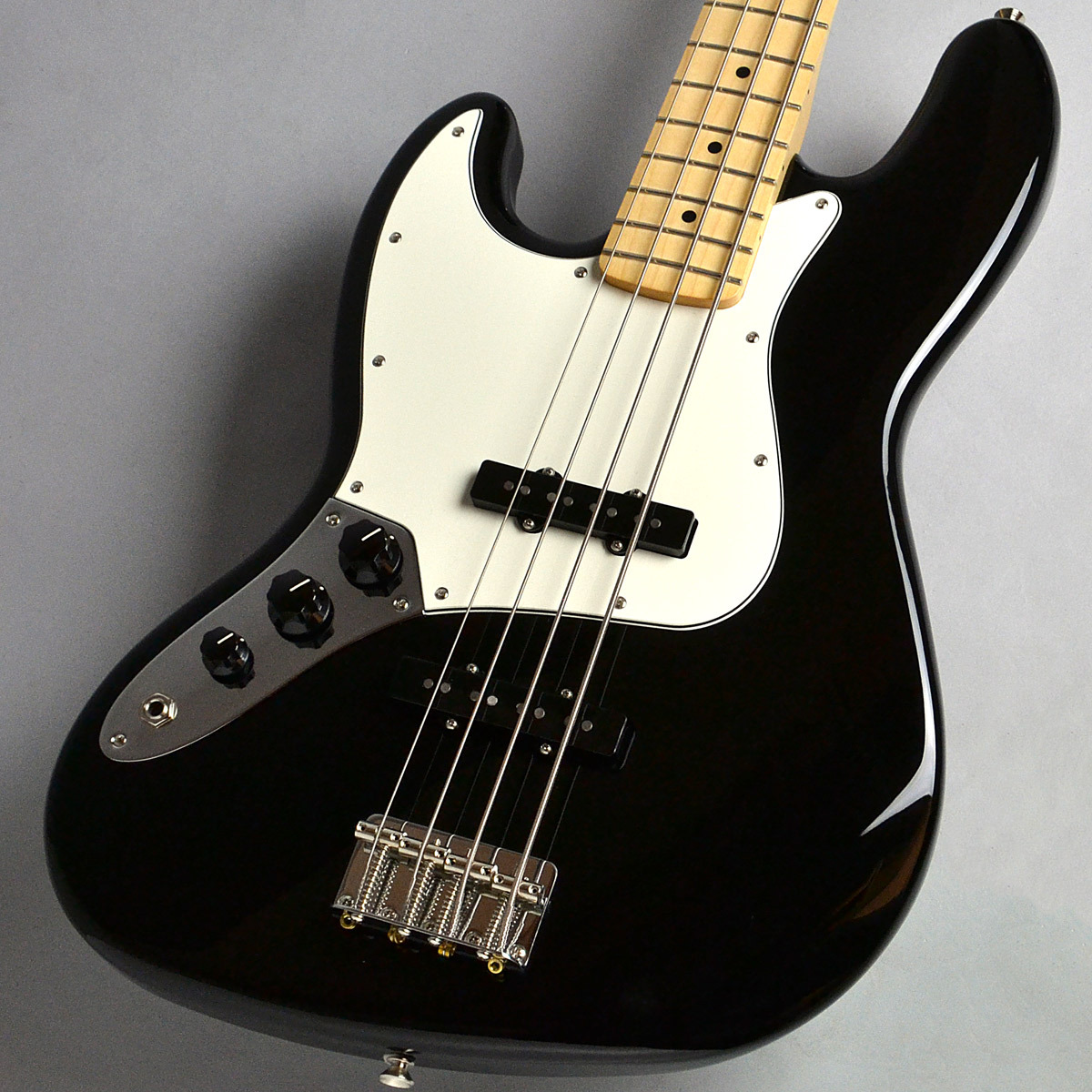USED Player Series Jazz Bass Left Handed / Blackのボディトップ-アップ画像