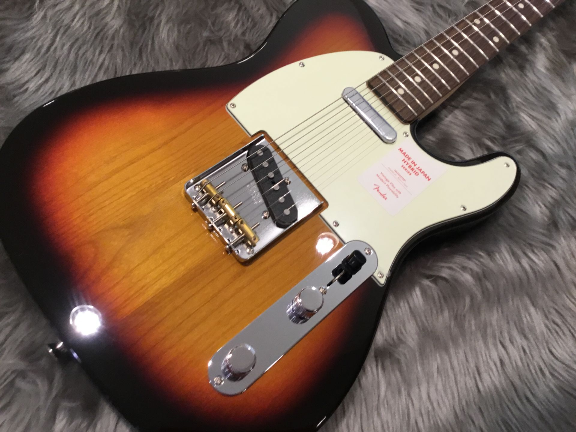 MADE IN JAPAN HYBRID 60S TELECASTERのボディトップ-アップ画像