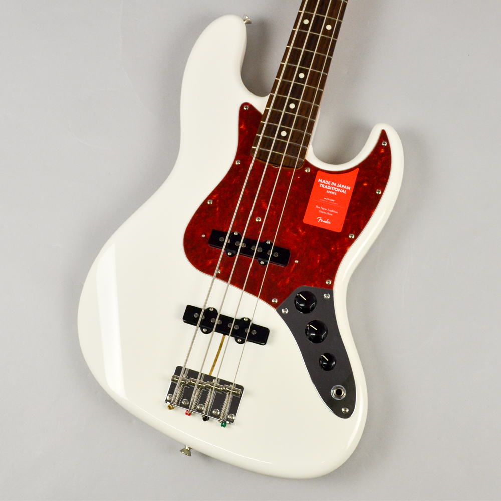 Made in Japan Traditional 60s Jazz Bass AWTのボディトップ-アップ画像
