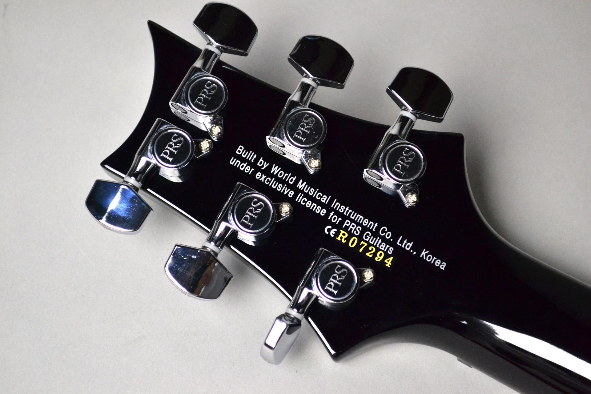 SE Custom 24 N/ SP sapphireのヘッド裏-アップ画像